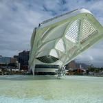 Il Palazzo della scienza disegnato da Calatrava, nei pressi del Boulevard olimpico di Rio