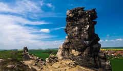 Teufelsmauer (carsten.plagge) Tags: harzlandschaft himmel mai teufelsmauer thale weddersleben blau harz sachsenanhalt deutschland de