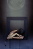 Easygoing (Kathy Chareun) Tags: alphabet alfabeto autorretrato autoretrato selfportrait woman mujer femme girl e easygoing rosie hardy moon luna space espacio arms brazos pain dolo surreal paint pintura surrealism surrealismo surrealistic surrealista sad sadness art arte challenge reto