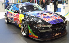 Drift UTE (Schwanzus_Longus) Tags: essen motorshow german germany japan japanese modern car vehicle coupe coupé pickup pick up ute drift nissan 200sx s13 mitsubishi galant