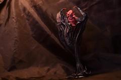 Do you really need this soul? (Nikita Vasiliev) Tags: hubertvilleneuve origami origamiart paper paperart demon devil soul deal