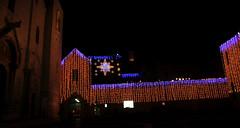 Bari Basilica di S. Nicola (Mediterranea.....scatto e basta!) Tags: bari basilica basilicabari basilicasnicolabari natale monumenti luminarie luci 2017 notte cielo