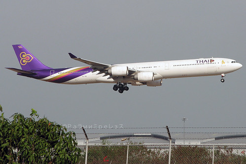 Thai Airways Airbus A340-600 BKK