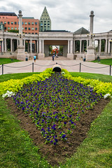 Civic Center Park + Greek Greek amphitheater - Denver, Colorado, USA 2 (Russell Scott Images) Tags: denver colorado usa greektheater colonnade civiccenterpark amphitheater russellscottimages