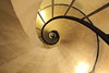A Pantheon Schematic, the Left Stairs (Eye of Brice Retailleau) Tags: angle beauty composition perspective scenery scenic view vanishing point path chemin camino backpacking wideangle architecture bâtiment indoor indoors europe france paris pantheon stairs staircase