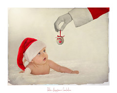 🎄..............🎅..............🎄 (.... belargcastel ....) Tags: retrato joel familia nieto bebe navidad papanoel hogar amor ternura belargcastel texturas españa spain baby love portrait christmas belénargüeso 5meses