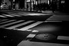 midnight intersection (N.sino) Tags: m9 summilux50mm intersection shinjuku midnight 新宿 マンホール 交差点 横断歩道