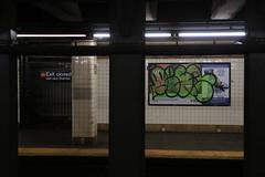 desa mta (Luna Park) Tags: ny nyc newyork brooklyn subway mta desa graffiti throwie