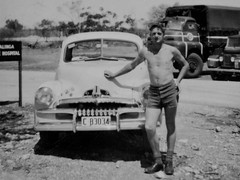 Dad. Maralinga. During the Atomic Tests. (dagboshoots) Tags: dad father 1950s australia army rae engineers maralinga atomic atomictests british desert youth confidence blackandwhite bw dagboshoots dagbo