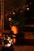 Merry Christmas! (dididumm) Tags: merrychristmas froheweihnachten feliznavidad buonnatale joyeuxnoël xmas night decoration red white candycane light darkness frontdoor stairs rusty metal candle kerze metall rostig treppen haustür dunkelheit licht weiss weis rot zuckerstange dekoration deko schmuck weihnacht nacht