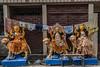 Kalighat, quartier des fabricants d'idôles, Calcutta,  Bengale occidental, Inde (Pascale Jaquet & Olivier Noaillon) Tags: idoles scènederue religionhindouisme artisanat durga calcutta bengaleoccidental inde ind