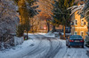 (ErrorByPixel) Tags: smc pentaxda 50mm f18 smcpentaxda50mmf18 pentax k5 pentaxk5 errorbypixel 5018 handheld road tree winter house car sign fence poland lower silesia snow