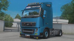 eurotrucks2 2017-12-26 12-19-43 (Christian ExE) Tags: volvo truck italy ets2 blue low deck