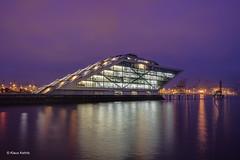 Dockland - 18121702 (Klaus Kehrls) Tags: hamburg hamburgerhafen dockland architektur bürogebäude elbe blauestunde nachtaufnahme