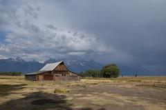 Mormon Barn (Jessie.Liang) Tags: grandteton grandtetonnationalpark grandtetonnp mormon mormonbarn landscape mountains rockymountains