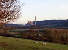 Distant Towers (Snowdrop500) Tags: shropshire salop winter sunshine riversevern ironbridgepowerstation coolingtowers