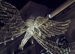Spirit of Christmas, Regent St, London 2017 (Cybermyth13) Tags: spiritoverchristmas regentstreet christmas lights 2017 london londonist england uk xmaslights white centrallondon westend spirit angel