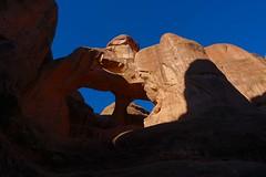 Skull Arch (Sean Munson) Tags: archesnationalpark fieryfurnace nationalpark utah arch skullarch