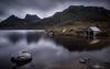 Rock The Cradle 3 (Bradley Grove) Tags: mountain rocks sky sunrise cradle dawn dove dusk gray grey lake moody overcast shed tasmania