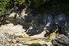 0826 D6 Juan De Fuca-20 (Thisissophia) Tags: nature raw juandefuca vancouverisland sooke ocean water blue coast strait rock jump people sport cave alcove