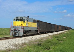 506, Belle Glade, 28 Nov 2017 (Mr Joseph Bloggs) Tags: ussc united states sugar corporation usa america florida scfe south central express train treno freight cargo merci sugarcane bryant belle glade clewiston emd electro motive division gm general motors emdsd402 emdsd40 506