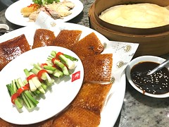 Beijing duck (Thailand Ver.) (NuCastiel) Tags: gourmet thaifood chinesefood crispy dinner meal delicious restaurant cuisine chinese bangkok bkk thailand thai food duck beijingduck