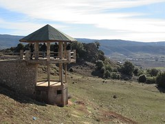 Viewing platform at Belvédère d'Ito, Middle Atlas near Ifrane, Morocco (Paul McClure DC) Tags: morocco ifraneprovince maroc almaghrib jan2017 middleatlas architecture scenery azrou