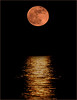 (nadiaorioliphoto) Tags: moon luna mare riflesso sea red water