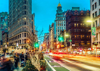 Blue hour Flatiron