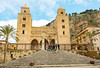 Cefalu cathedral (Andrea Schaffer) Tags: 2018 january winter italie italy italia sicilia cefalu cefalucathedral duomo sicile italien church chiesa duomodicefalù cathedralbasilicaofcefalù sicily larocca cefalù arabnorman unescoworldheritagesite sizilien 西西里岛 シチリア島 europe southernitaly σικελία sicilija