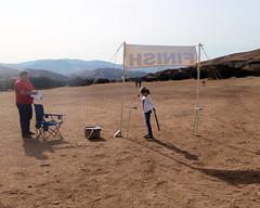 043 Don't Forget To Punch Finish (saschmitz_earthlink_net) Tags: 2018 california orienteering vasquezrocks aguadulce losangelescounty laoc losangelesorienteeringclub