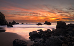 Pirates Cove (Anish Patel Photo) Tags: seascape sunset california pacific coast ocean pirates cove