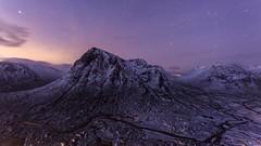 Buachaille Etive Mor Dawn (Chris_Hoskins) Tags: wwwexpressionsofscotlandcom scottishlandscapephotography scotland winter herdsman glencoe dawn scottishlandscape bluehour beinnachrulaiste rivercoupall buachailleetivemor scottishwinter landscape