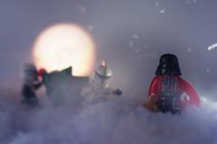 la forza sia con voi (filipposartoris) Tags: snow ice natale lego blocks brick albero orso neve christmas santa claus north pole xmas star wars darth vader trupper clone