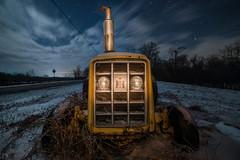 Moonlight and Flashlight... (dansshots) Tags: upstatenewyork upstateny upstate snow nightphotography longexposure stars dansshots nikon nikond750 rokinon rokinon14mm clouds