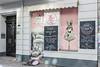 Vegan Food (JuliSonne) Tags: streetart street shop blind jaluosie food vegan berlin
