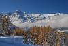 Image d'automne en Savoie. (yves floret) Tags: savoie hautemaurienne mélèzes automne dentparrachée glaciers nuages