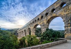 2017 Aqua (jeho75) Tags: sony ilce 7m2 zeiss aqueduct pont du gard france frankreich römisch roman water bridge brücke aquädukt provence winter