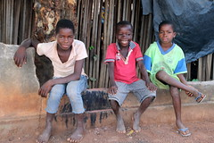 Three Friends (Alan1954) Tags: three boys males portrait africa cotedivoire ivorycoast holidy 2017 village