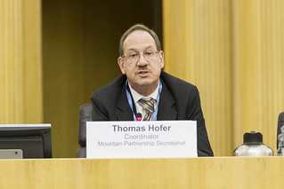 Thomas Hofer, Coordinator, Mountain Partnership Secretariat