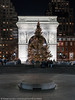 Washington Square Park Christmas (20171219-DSC05513) (Michael.Lee.Pics.NYC) Tags: newyork washingtonsquarepark christmastree christmas tree holiday arch night fifthavenue fountain symmetry architecture cityscape sony a7rm2 fe24105mmf4g