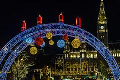 Frohe Weihnachten...Merry Christmas... (a7m2) Tags: vienna christkindlmarkt tradition rathaus travel tourismus brauchtum lebkuchen punsch glühwein weihnachten