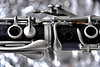 Christmas clarinet (jopperbok) Tags: jopperbok macro macromondays macromonday bokeh music clarinet grey instrument wood metal metallic circle circles black monochrome memberschoicebokeh