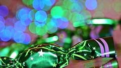 Christmas fondant and bokeh - MM (Zsofia Nagy) Tags: memberschoicebokeh macromondays bokeh candy sweet sweets christmas green blue purple fondant ourdailychallenge flickrlounge weeklytheme 7daysofshooting week26 partytime macromonday milka chocolate joy szaloncukor csoki csokoládé macro dof depthoffield tabletop