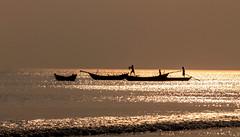 Life In A Boat......!! (sandy_photo) Tags: fisherman sea bayofbengal india outdoor life boat boatman f