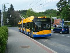 Zlin-Otrokovice No. 457 (johnzebedee) Tags: trolleybus transport publictransport skoda zlinotrokovice czechrepublic johnzebedee skoda27tr