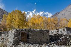 PEAK (hisalman) Tags: hussaini village hunza valley peak mountain pakistan gilgit glacier autumn hisalman salmanahmed