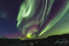 Aurora greener (Fred S. Silva) Tags: iceland auroraborealis nothernlights northern lights borealis