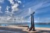 Memorial Acte, Guadeloupe (patrick Thiaudiere, thanks for 1,25 million views) Tags: clouds sky ciel nuages mer sea statue memorial acte esclavage bleu blue guadeloupe flickrfriday meilleursvoeux bestwishes