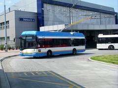 Ostrava trolleybus No. 3713 (johnzebedee) Tags: trolleybus transport publictransport vehicle ostrava czechrepublic skoda johnzebedee